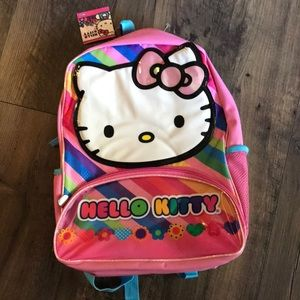 NWT hello Kitty back pack